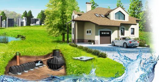 Біо каналізація заміського будинку - пристрій, вигода, вибір