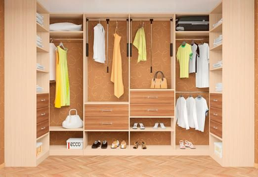 Що потрібно знати про інтер`єр власникові великого гардероба?