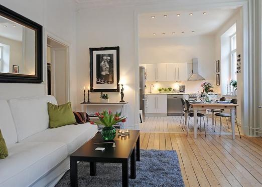 Дизайн інтер`єру однокімнатної квартири своїми руками