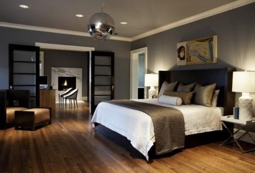 Використовуємо темні тони для оформлення елегантною і вишуканою спальні