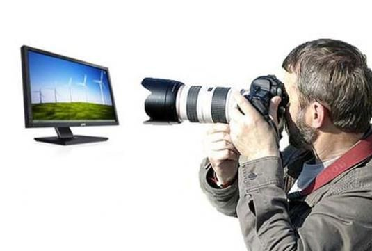 Як фотографувати екран?