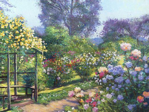 Як намалювати сад?