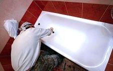 Як недорого відновити емаль ванни