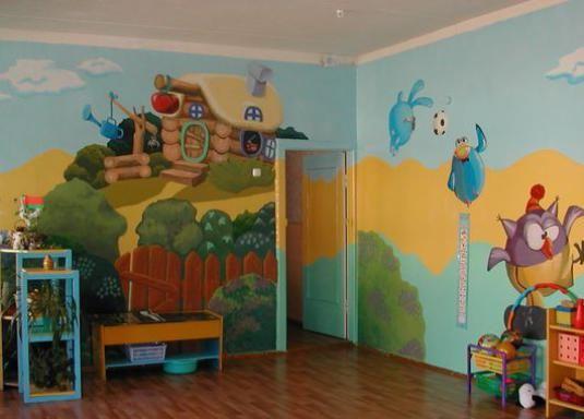 Як оформити групу дитячого саду?