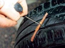Як полагодити проколене колесо