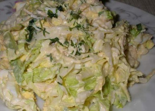 Як приготувати салат з капусти?