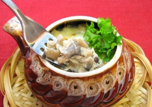 Як приготувати жульєн з куркою і грибами?