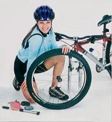 Як самому полагодити проколоту велосипедну шину