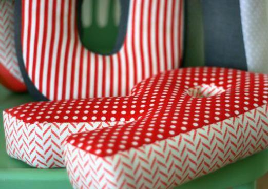 Як зшити букви-подушки?