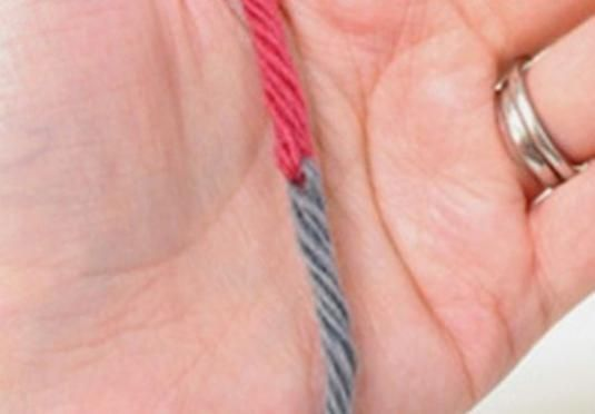 Як зв`язати нитки?