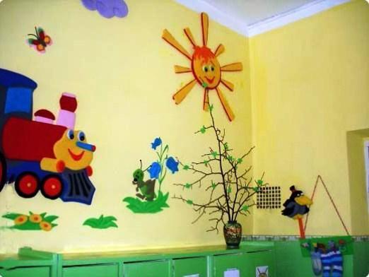 Як прикрасити детский сад?