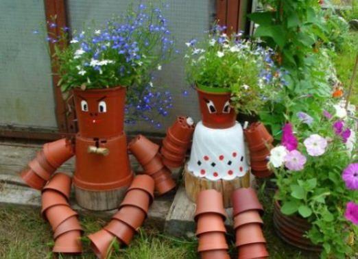 Як прикрасити сад своїми руками?