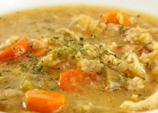 Як варити рисовий суп?