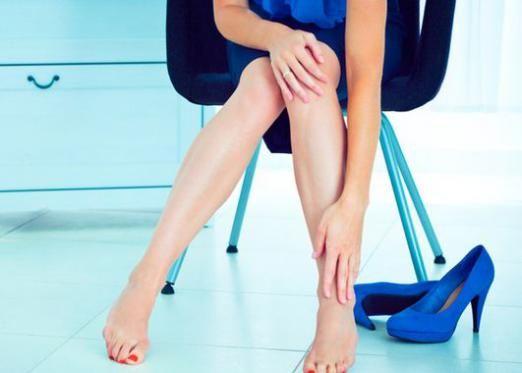Крутить ноги: що робити?