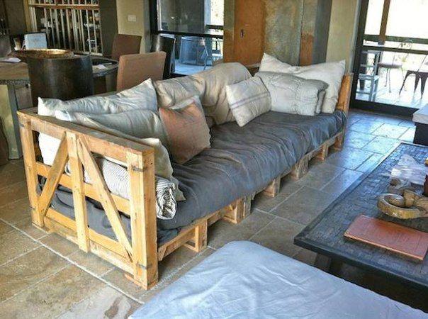 Виявляється, можна просто зробити садові меблі з дерев`яних палет