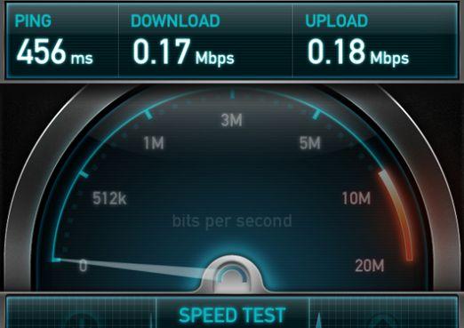 Чому повільно працює інтернет?