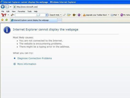 Чому вилітає інтернет?