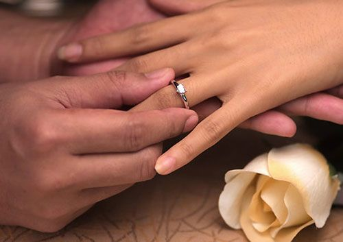 Помолвочное кільце - символ або красива традиція? Як його носити?