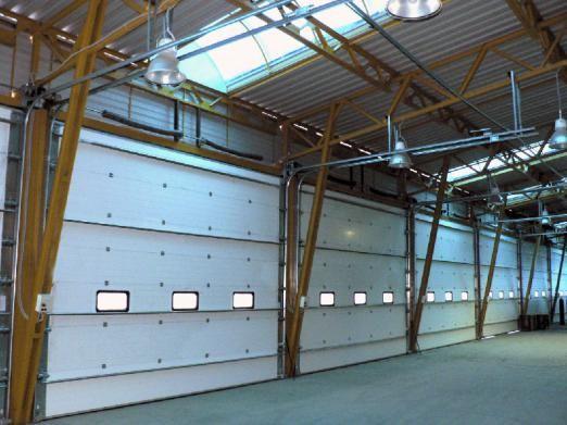 Промислові секційні ворота - особливості установки і експлуатації