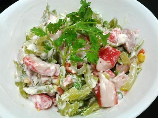 Рецепти салатів з крабовими паличками