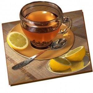 Чай, чай з м`ятою і ромашкою