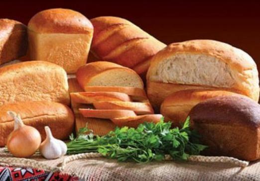 Скільки калорій в білому хлібі?