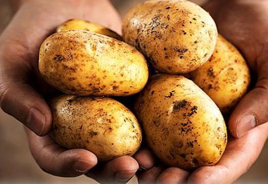 Скільки калорій в картоплі?