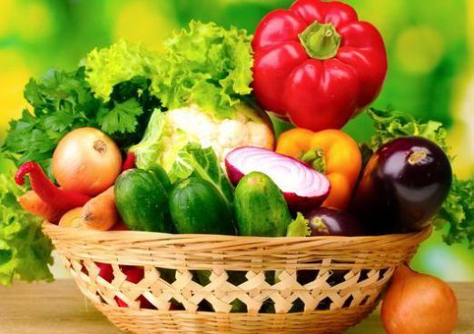 Скільки калорій в овочах?
