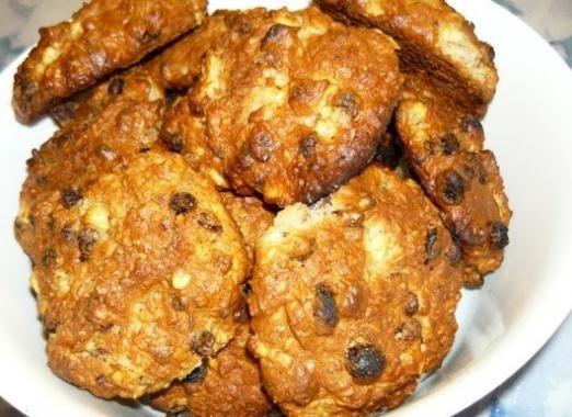 Скільки калорій в вівсяному печиво?