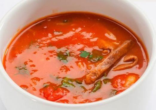 Скільки калорій в супі?