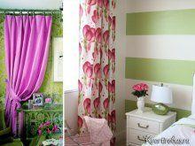Зелені шпалери: які штори підкреслять їх ?: Фото 3